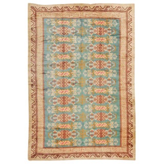 Vintage Mid-Century Swedish Rug - 8′6″ × 12′8″ For Sale