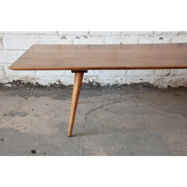 1950s Paul McCobb Planner Group Birch Coffee Table For Sale - Image 5 of 11