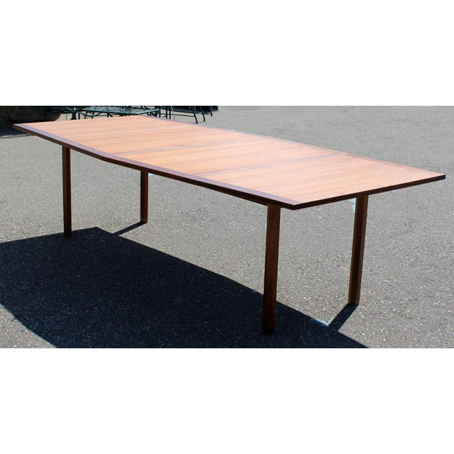 1960s Mid-Century Modern Dunbar Expandable Dining Table For Sale - Image 5 of 10