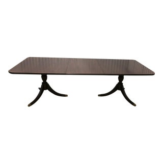 Vintage Baker Furniture Duncan Phyfe Dining Table For Sale