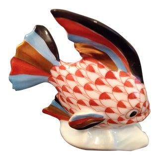 Herend Porcelain Fish Figurine