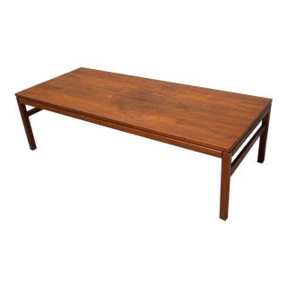 1950's Original Arbatove Mid Century Modern Teak Coffee Table
