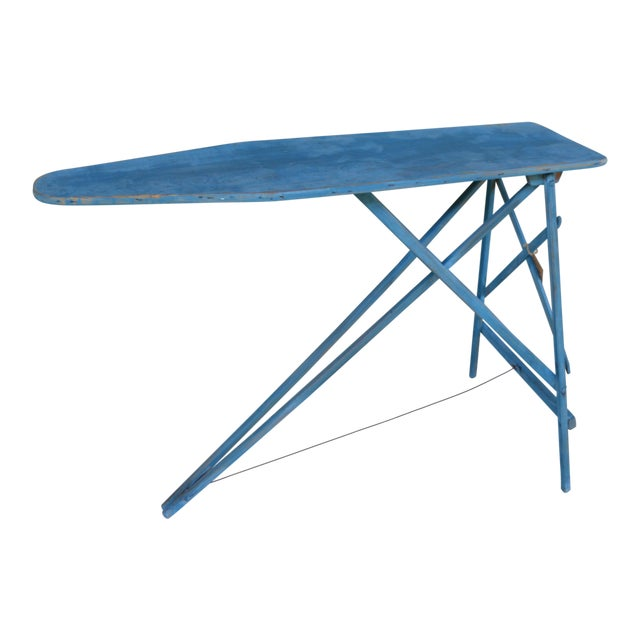 Antique Painted Ironing Board Table Chairish
