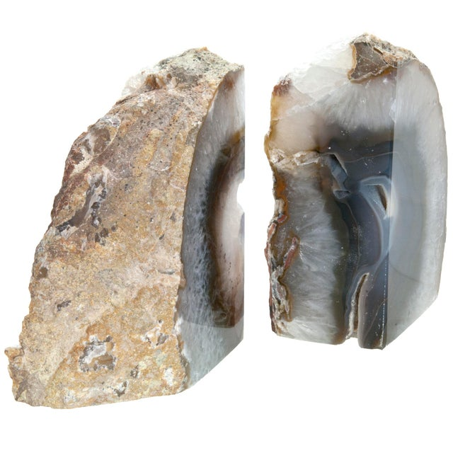 Brazilian Agate Bookends - a Pair - Image 2 of 4