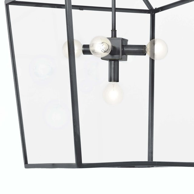 Camden Lantern in Oil Rubbed Bronze For Sale - Image 4 of 6