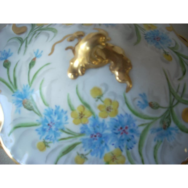 1930s 1930s Limoges Covered Serving Dish For Sale - Image 5 of 6
