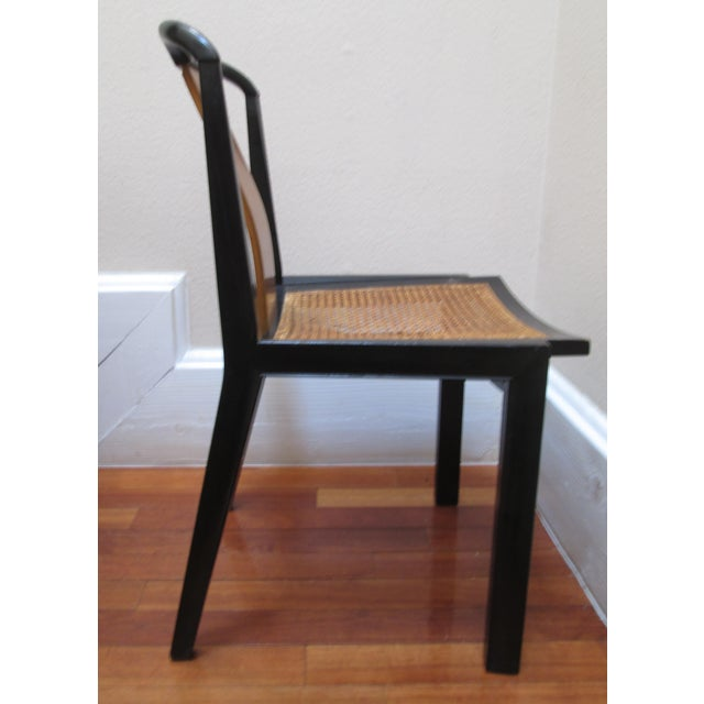 1950s Mid-Century Modern Michael Taylor for Baker Furniture Side Chair For Sale In Los Angeles - Image 6 of 11