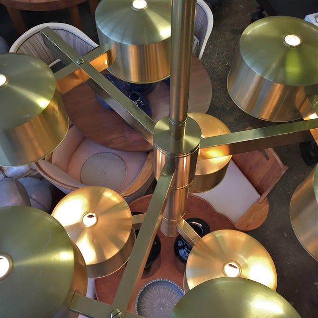 Oversized Chandelier by Hans-Agne Jakobsson For Sale In New York - Image 6 of 11