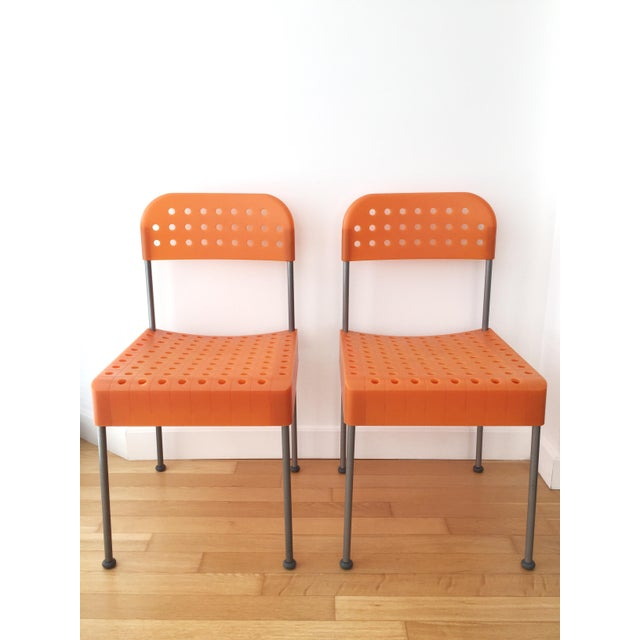 Late 20th Century Vintage Enzo Mari Box Chairs Produced by Aleph Atlantide (Driade) - a Pair For Sale - Image 13 of 13