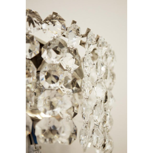 Vintage Crystal Wall Lamp from Austria by Bakalowits, 1960s For Sale - Image 6 of 8