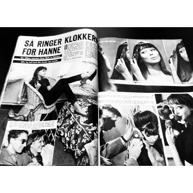 French 1960s Vintage Jean Luc Godard Collectible Magazine For Sale - Image 3 of 5