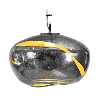 Silver Vista Swirl Galaxy Pendant Light For Sale