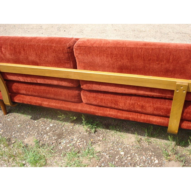 Adrian Pearsall-Style Platform Sofa - Image 5 of 11