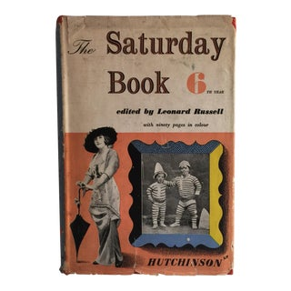The Saturday Book 6th Year 1946 Leonard Russell For Sale