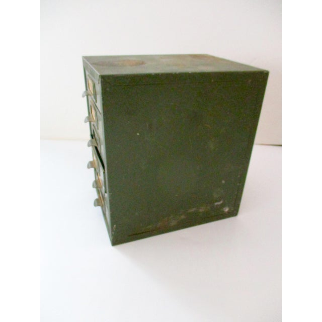 Industrial Metal Tool Chest Kennedy Vintage Drawers Cabinet For Sale - Image 5 of 9
