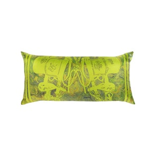 """Brides De Gala"" Hermès Silk Scarf Pillow For Sale"