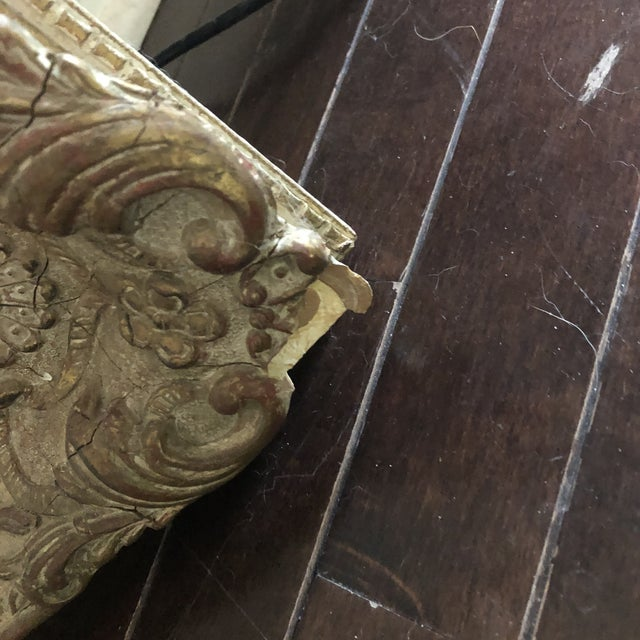 1920s Antique Baroque Frame For Sale In Baltimore - Image 6 of 8
