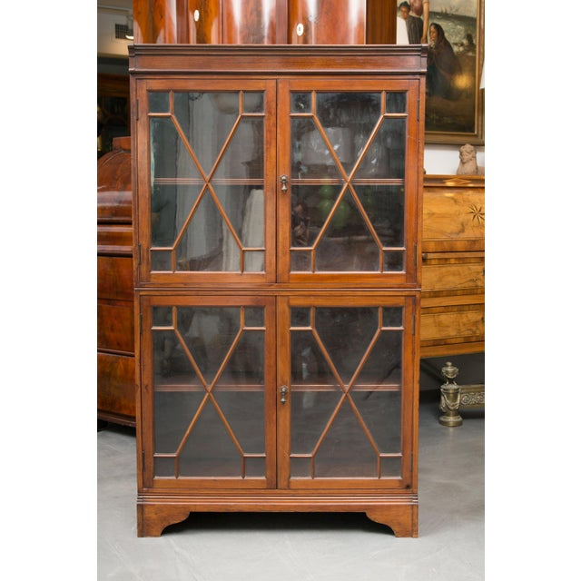 19th Century Dwarf English Bookcase For Sale - Image 10 of 10