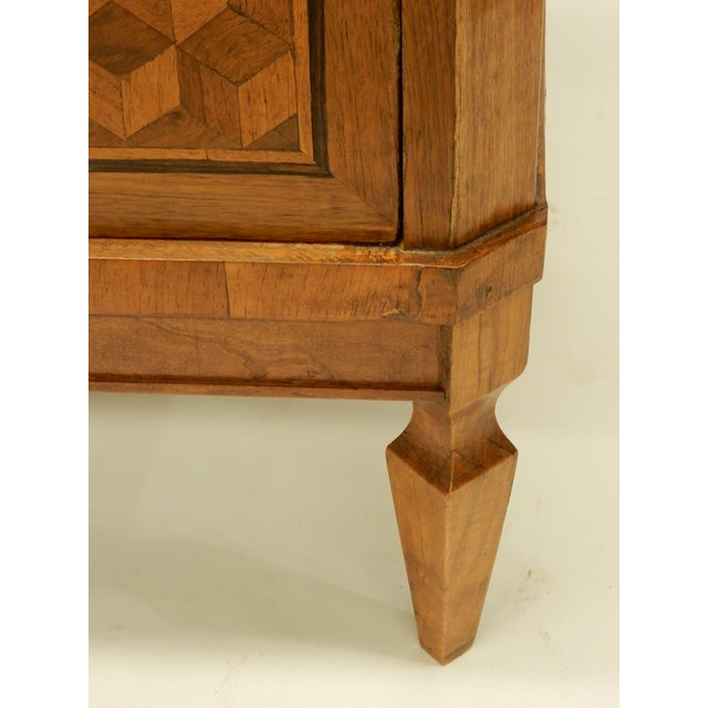 Italian 19th C Parquet Commode For Sale - Image 4 of 8