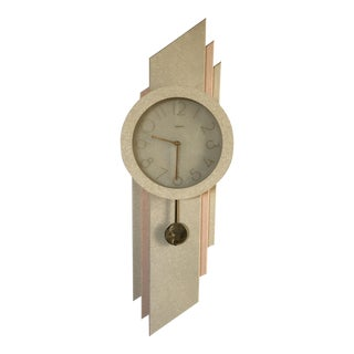 Vintage Post Modern Wall Clock