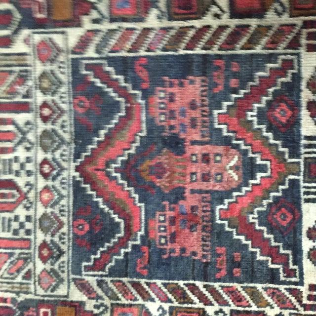 "Turkaman Persian Rug, 2'5"" x 4'1"" - Image 7 of 8"