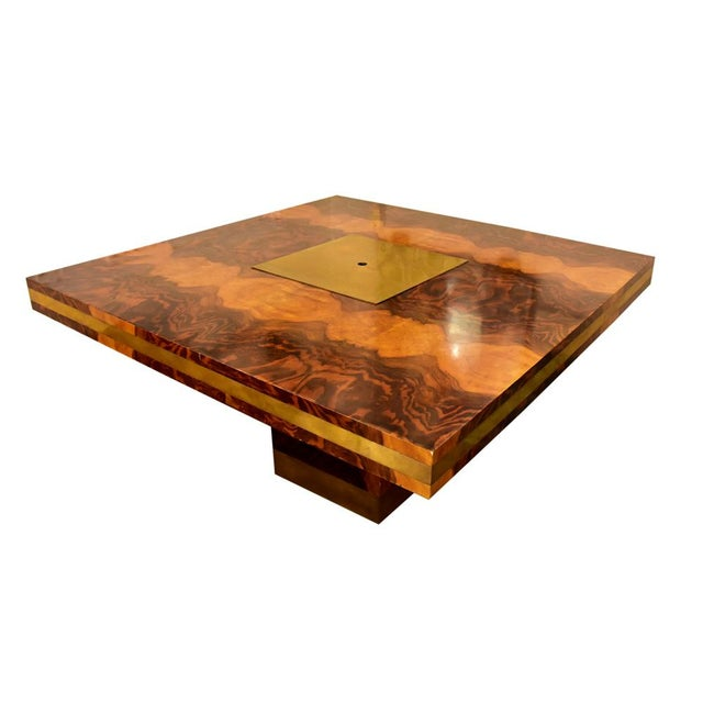 Brass Willy Rizzo Dining Table For Sale - Image 7 of 10