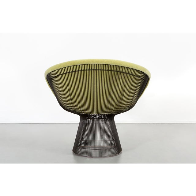 Bronze Set of Mid-Century Modern Bronze Platner Lounge Chairs for Knoll For Sale - Image 7 of 13