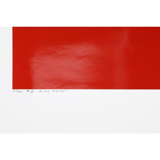 Portraiture Andy Warhol Red Series Ii, Photo Portrait by Curtis Knapp For Sale - Image 3 of 4