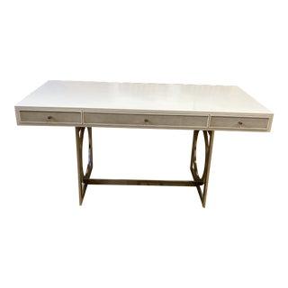 Salon Alabaster Bernhardt Salon Desk For Sale