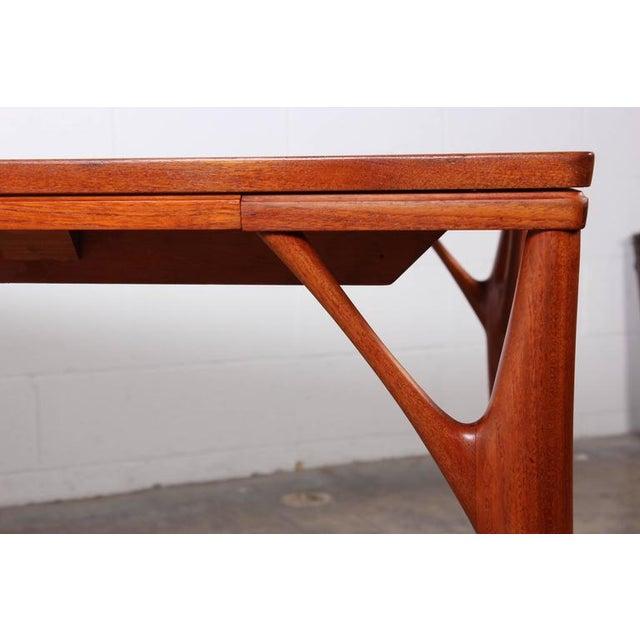 Sculptural Teak Dining Table - Image 2 of 10
