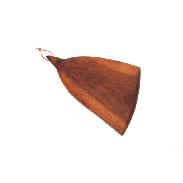 1960s Sculptural Walnut Cutting Board by Dirk Rosse For Sale - Image 5 of 11
