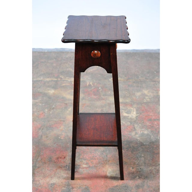 "Modern Antique American Designer 36"" Fern Stand For Sale - Image 3 of 9"