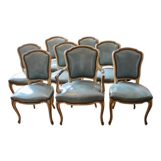 Vintage Louis XV Dining Chairs - Set of 8 For Sale