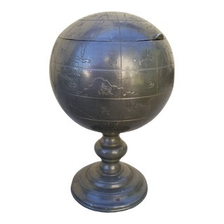 Antique Globe Tea Caddy For Sale