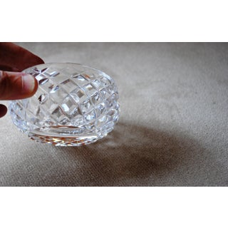 1960s Alana Waterford Crystal Ashtray Signed Preview
