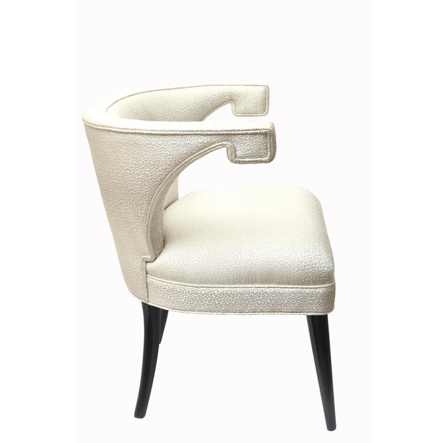 Tommi Parzinger Mid-Century Modern Tommi Parzinger Side Chairs - a Pair For Sale - Image 4 of 10