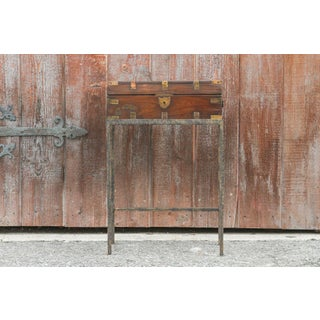 19th Century English Document Box on Stand Preview