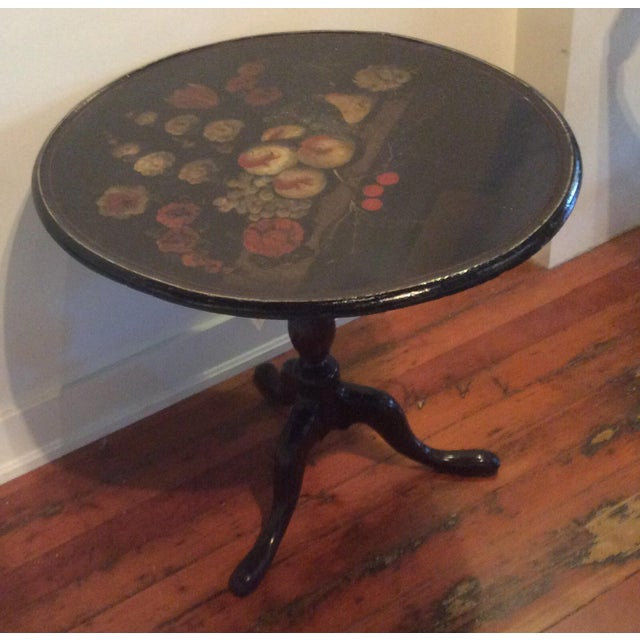18th Century Dutch Tilt Top Table With Still Life - Image 6 of 11