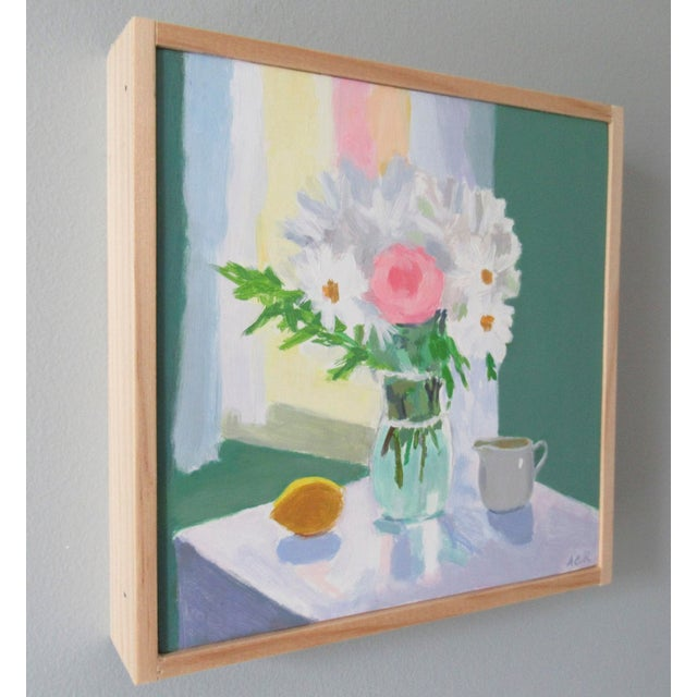 A lovely springtime bouquet filled with optimism. This painting is original, painted from life with an impressionistic...