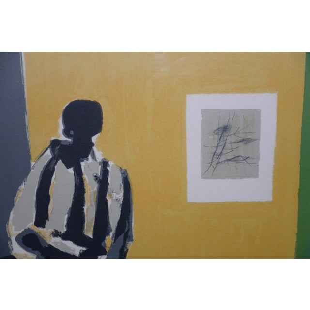 Lithograph Marcel Mouly (French, 1918-2008) Vintage Lithograph Signed / Numbered C.1980s For Sale - Image 7 of 10