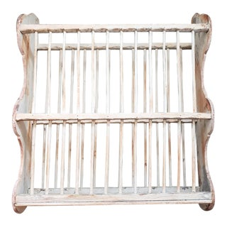Antique French Baguette Rack For Sale