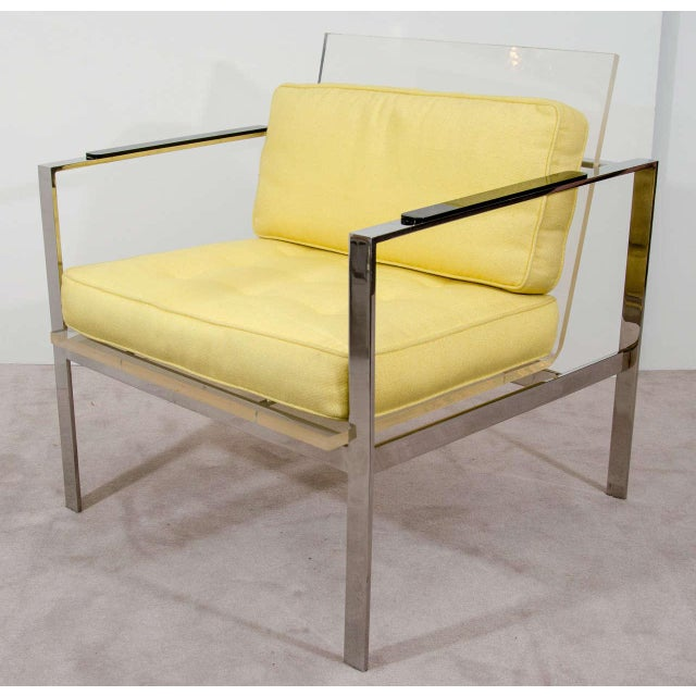 Laverne Lucite Chairs - a Pair - Image 2 of 11