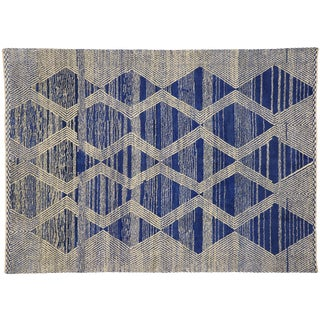 Contemporary Geometric Moroccan Rug - 10'00 X 13'11 For Sale