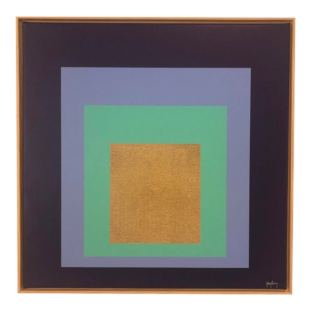 Modern Art Original Framed Giclee Print by Tony Curry For Sale