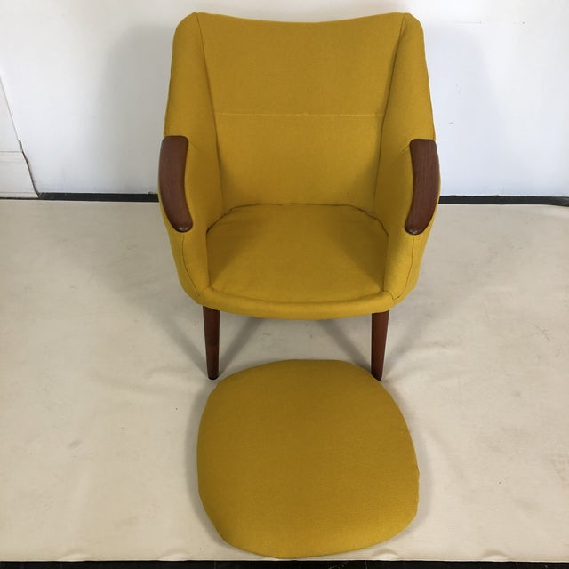 Kurt Orstervig for Rolschau Mobelfabrik Lounge Chair For Sale - Image 10 of 12