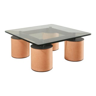 "Postmodern Lella & Massimo Vignelli ""Serenissimo"" Coffee Table for Acerbis, Italy C 1980"