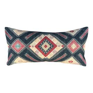 Antique Tribal Wedding Blanket Pillow For Sale