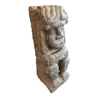 Carved Stone Statue For Sale