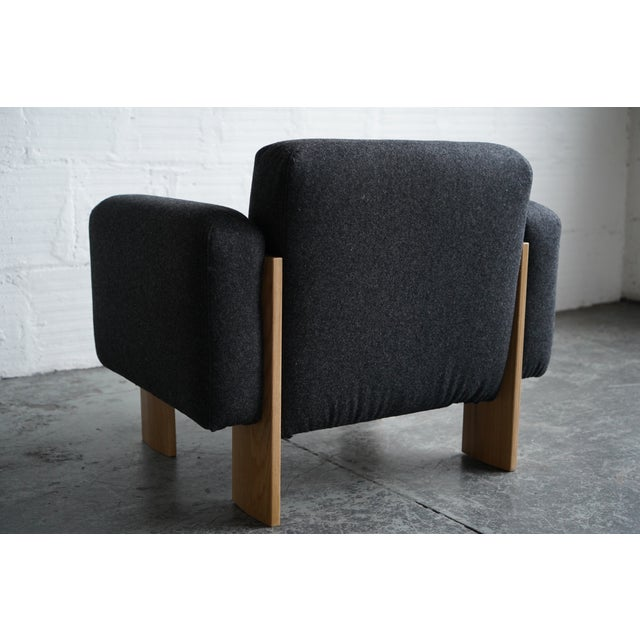 Modern Billow Lounge Chair For Sale In Portland, OR - Image 6 of 7