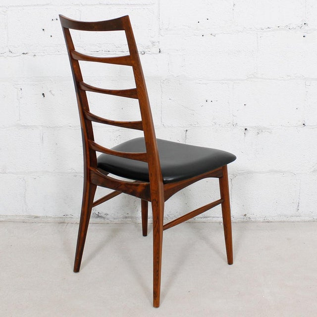 Black Koefoed Hornslet Danish Modern Rosewood Dining Chairs - Set of 6 For Sale - Image 8 of 10